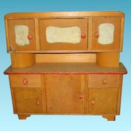 Vintage Handmade One of A Kind Hoosier Cabinet or Cupboard
