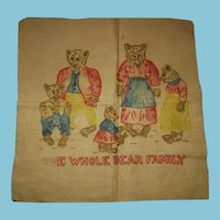 The Whole Bear Family Needlework to Frame Bears Bears and Bears