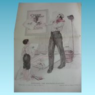 1920 Needlecraft Magazine Cream of Wheat Ad Plus