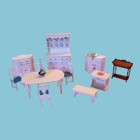 Artist Designed and Handmade Dollhouse Furniture by Maine Artisan