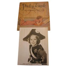 1936 Shirley Temple Book and Photo