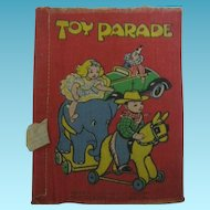 Vintage Cloth Deans Rag Book Toy Parade