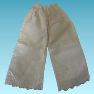 Old Doll Bloomers for Bisque or China Head