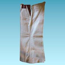 Vintage Linen Boys Sailor Type Pants