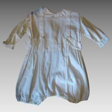 Large Baby Vintage Romper for Doll or Bear