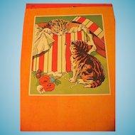 Friendly Animals Book by Whitman Wonderful Artwork