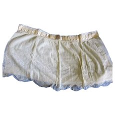 Antique Lovely Lace Skirt Bottom Fabric