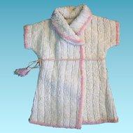 Nice Vintage Doll Terrycloth Robe