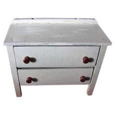 Vintage Doll Dresser or Kitchen Cupboard