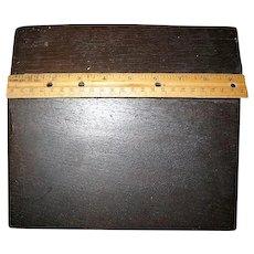 Antique Childs Writing Lap Desk Rare and Unique Box