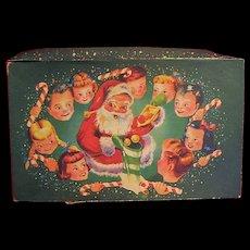 Vintage Childrens Wonderful Christmas Greeting Cards 1940s Era in Box