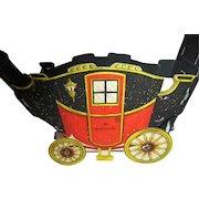 Vintage Hallmark Dickens Era Carriage with Horses Christmas Decoration