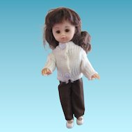 1970s Skinny Ginny Doll For Play