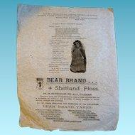 Antique Ephemera Advertising Sales Paper Frame It