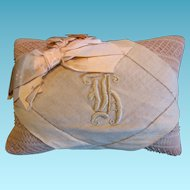 Victorian Initialed Pin Cushion