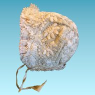 Best Antique Lace Baby Bonnet