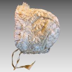 Best Antique Lace Baby Bonnet