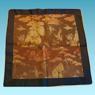 Old Asian Oriental Chinese or Japanese Textile