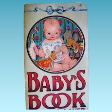 1916 Baby's Book by Anna Lauer with Animals and the Sounds They Make