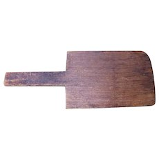 Old Wooden Primitive Pie Board