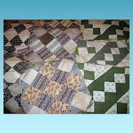 Old Quilt Patch Squares for Projects