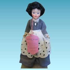 Gettysburg Souvenir Tagged Jenny Wade Doll in Original Box