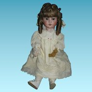 German Schoenau & Hoffmeister Child Face Doll