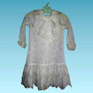 Antique Lovely Lace Baby or Doll Dress