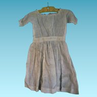 Primitive Baby or Doll Dress for Antique China or Greiner Head Doll