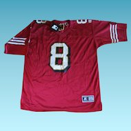 Vintage NOS NFL Hall of Fame Steve Young Jersey