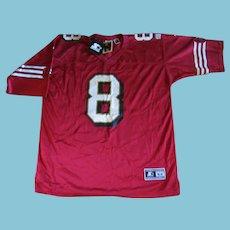 Vintage NOS NFL Hall of Fame Steve Young Jersey