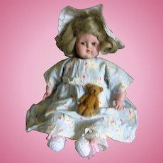 Vintage Madam Alexander Baby Genius Doll