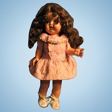 EEGEE Susan Stroller Hard Plastic Walker Doll with Great Hair