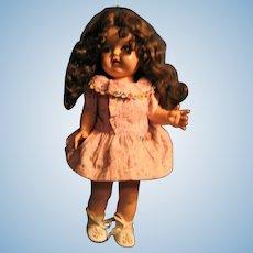 EEGEE Susan Stroller Hard Plastic Walker Doll with Great Hair