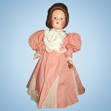 Rare Vintage Effanbee Historical Replica Fashion Doll 1939 Unity of Nation Established Doll