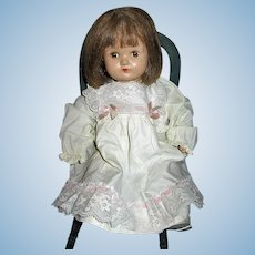 Sweet 1930s Composition and Cloth Body Alexander Doll