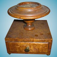 19th Century Sewing Box Base with Drawer