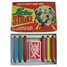 Vintage Luckie Strike Card Game or Lucky Strike Game