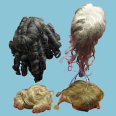 4 Used Doll Wigs for Your Dolls