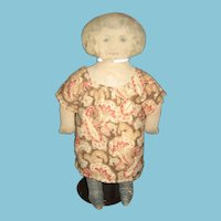 Early 1900s Fabric Mills Printed Cloth Doll