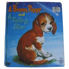 A Brown Puppy and A Falling Star Tell-A-Tale Book