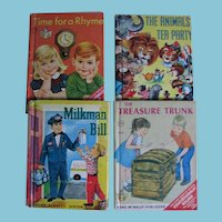 4 Rand McNally Elf Books for Kids