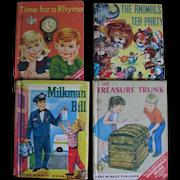 4 Rand McNally Elf Books for Kids