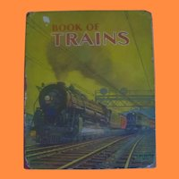 Book of Trains Linenette Book with Grif Teller Illustrations