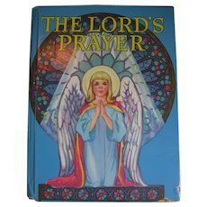 The Lord's Prayer Pictured for Children Book Plus the Beatitudes 1943