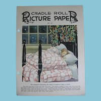 Bakers Dozen 1920s Cradle Roll Picture Papers for Presbyterian Church