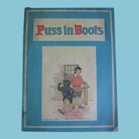 Hard to Find Puss In Boots 1922 The Platt & Monk Co. Paperback Book
