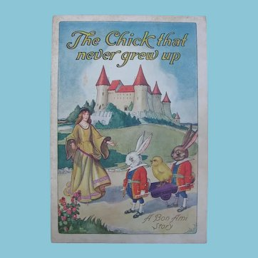 1926 The Chick That Never Grew Up is A Bon Ami Story by George W Davey