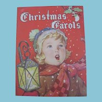 1940s Christmas Carols Book with Delightful Artwork