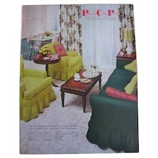 Popular Club Plan Catalog Fall Winter 1955 in Excellent Condition